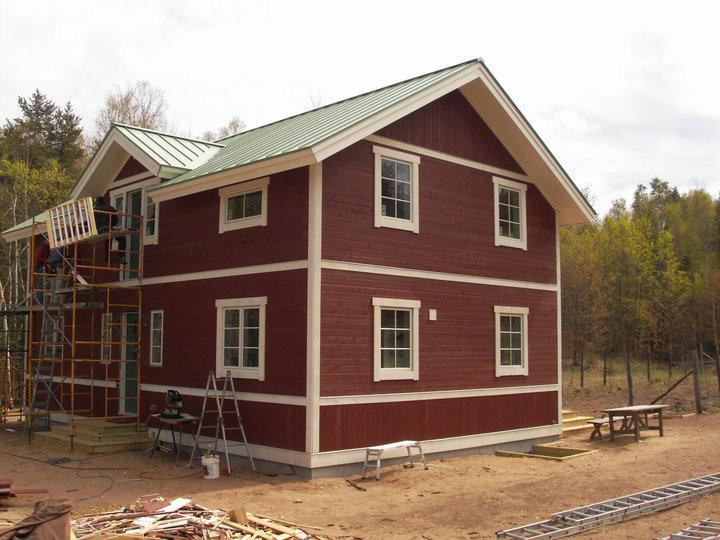 Swedish Farmhouse Tamarack Custom Builders